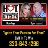 """Getting HOT In The Kitchen - with Special Guest, """"Danny Mac"""" and a groundhog?"""
