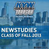 KYW Newstudies Fall Class of 2