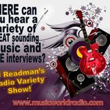 Friday Night, Radio Variety Show with DJ Readman: Drag, Silver Story, Le Poisson, Reister and more