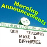 Morning Announcements 5/7/10