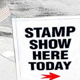 Stamp Show Here Today - The Po