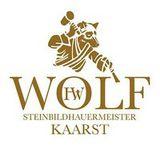 Steinbildhauerei Wolf