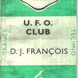 1996 DJ Francois Club UFO techno Mix-CD Release