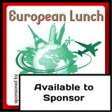 European Lunch, 28th November 2013