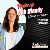 Wake up with Mandy