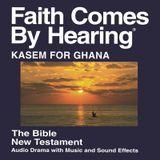 Kasem pour le Ghana Bible