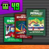 Retrogeek #49 - Pitfall!, Enduro e River Raid