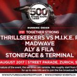 Stoneface & Terminal - live @ Future Sound Of Egypt 500 (Street Parade, Zurich) – 12.08.2017