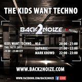 Daparec Live @ Back2Noize Radio - The Kids Want Techno Show (16.11.2017)