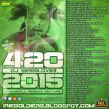 420 DANCEHALL REGGAE MIXTAPE 2015 DJ SENSILOVER (IRIE SOLDIERS)