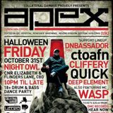 ctoafn 'Apex Tribute Set' Live on Viper Tour Adelaide 141017