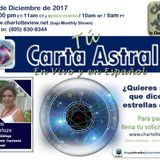 Dec 11 ~ Charlotte View: Tú Carta Astral. En Vivo y en Español