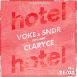 VOKE & SNDR - Present ClarYce - 21/03/17