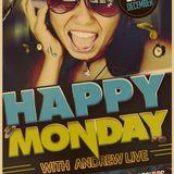Happy Monday with Andrew Live | Episode IX : Dj Poulos