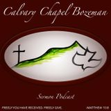 Galatians 5:16-26 - Audio