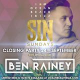 SIN SUNDAYS | OCEAN BEACH CLUB IBIZA | MIXED BY BEN RAINEY