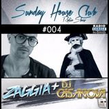 SUNDAY HOUSE CLUB @ Radio Canale Italia #004 | ZAGGIA + DJ CASANOVA | free download