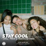 Stay Cool #011 w/ Joyce Wrice & TreeHouse Vibes (Larry, AJMW, Fanshore, Tropic & Ellzo)
