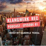 Klangwerk Radio Show - EP061 - Gabriele Tiddia
