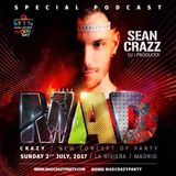 SEAN CRAZZ BEATMIX PODCAST SERIES: MAD PARTY MADRID WORLD PRIDE 2017