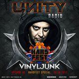 UNITY RADIO Episode #45 [HARDFEST SPECIAL] The Vinyl Junk (20-04-2017)