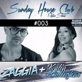 SUNDAY HOUSE CLUB @ Radio Canale Italia #003 | ZAGGIA + KATIA CALLEGHER | free download