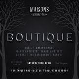 Boutique At Maisons 8th of April
