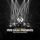Pete Dash - Live @ Back to Jack's House Radio - 13.12.2017
