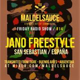 Friday Radioshow #14 Guestmix by Jano Freestyle 29/12/17