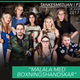 Malala med boxningshandskar