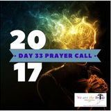 40-Day Prayer Initiative - Prayer Call - Day 33 - LIVE BROADCAST