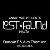 Duncan F & Alex Thomson B2B At The Lost & Found Festival Malta Opening Boat Party 2015