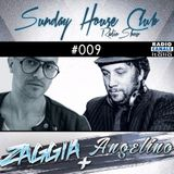 SUNDAY HOUSE CLUB @ Radio Canale Italia #009 | ZAGGIA + ANGELINO | free download