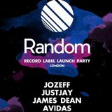 Random Records Launch Party 14/1/17 @ Cafe 1001 - JustJay {FREE DOWNLOAD}