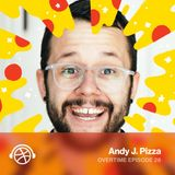 Being a Professional Encourager with Andy J Pizza from the Creative Pep Talk Podcast