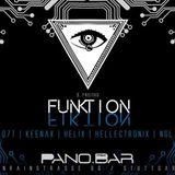 O7T b2b Keenax live @ FunktionFiktion (15.12.17 Pano.Bar Stuttgart)