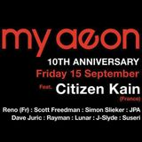 Live @ My Aeon 10th Anniversary - Sept 15th