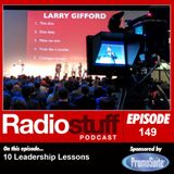 Episode 149 - 10 Leadership Lessons