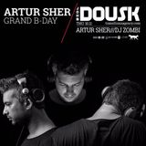 Artur Sher - Closing Set @ The Cat & Dog Club 11.11.16 (recorded live)