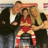 Six year old Mark receives a surprise call from Adam Rooney
