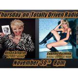 Totally Driven Radio #260 w/ Alison Arngrim & Eugenia Kuzmina