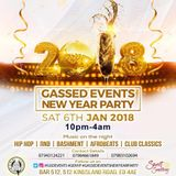 Gassed Events New Year Party 2018 Promo Mix