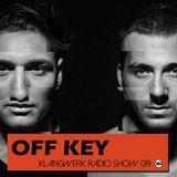 Klangwerk Radio Show - EP019 - Special Guest OFF KEY