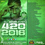 420 DANCEHALL REGGAE MIXTAPE 2016 - DJSENSILOVER (IRIE SOLDIERS)