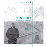 MEN SET at INSERT Club - 15 Enero 2017