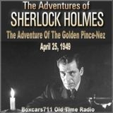 The Adventures Of Sherlock Holmes - The Adventure Of The Golden Pince-Nez (04-25-49)