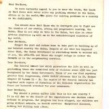 Appeal by the peace delegation to the Anya Nya (Tarikh Tana/Our History)