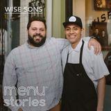 Evan Bloom and chef Eduardo Hernández, Wise Sons