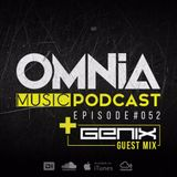Omnia Music Podcast #052 / Incl. Genix guestmix (22-03-2017)