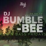 DJ BUMBLEBEE- !LIVE on @HushFmRadio Ep.29.09.17